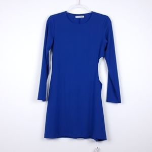 Reformation Royal Blue Kensy Cut Out Mini Dress NW
